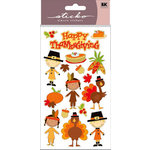 EK Success - Sticko Sparkler Stickers - Happy Thanksgiving