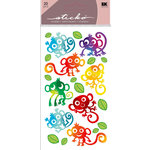 EK Success - Sticko Sparkler Stickers - Monkey Club