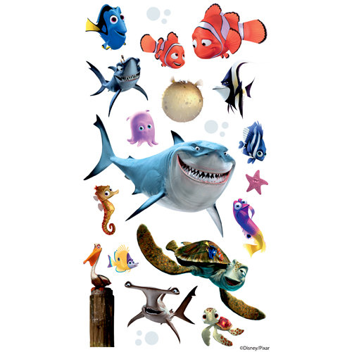 EK Success - Disney Collection - Classic Stickers - Finding Nemo