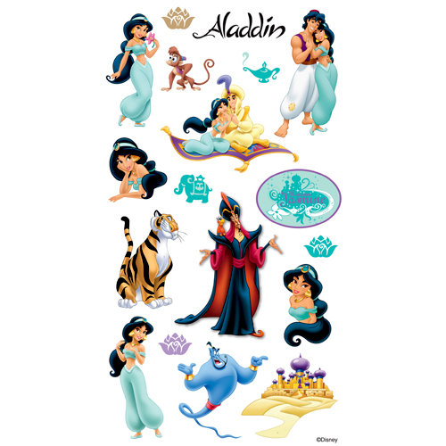EK Success - Disney Collection - Classic Stickers - Aladdin