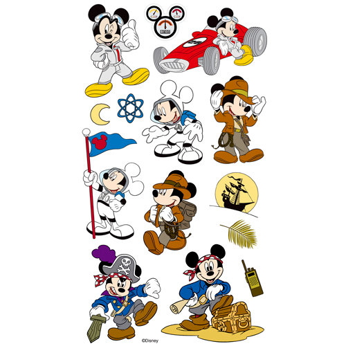 EK Success - Disney Collection - Classic Stickers - Mickey Themes