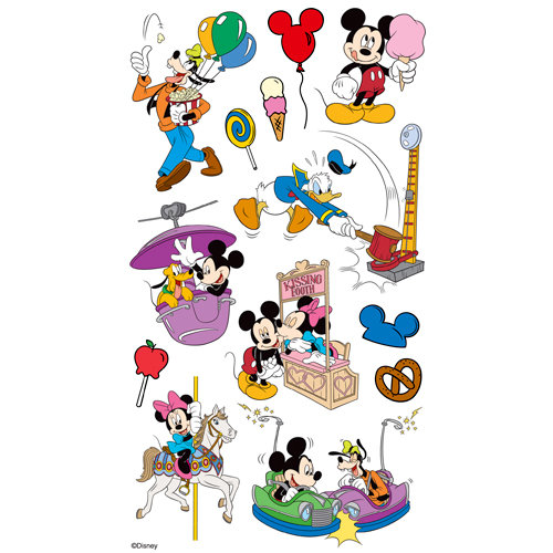EK Success - Disney Collection - Classic Stickers - Mickey Parks