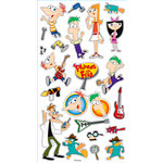 EK Success - Disney Collection - Classic Stickers - Phineas and Ferb