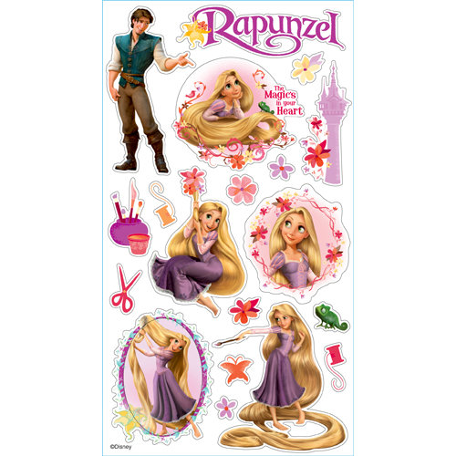 EK Success - Disney Collection - Classic Stickers - Rapunzel