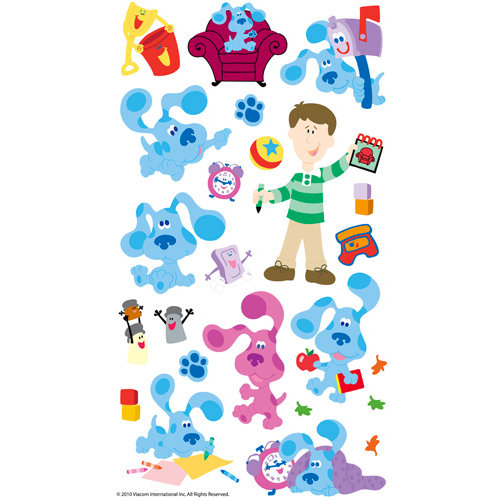 EK Success - Nickelodeon Collection - Classic Stickers - Blues Clues