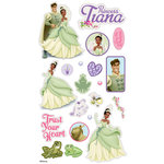 EK Success - Disney - The Princess and the Frog Collection - 3 Dimensional Puffy Stickers - Tiana, CLEARANCE