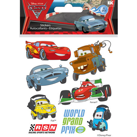 EK Success - Disney Collection - Metallic Stickers - Cars