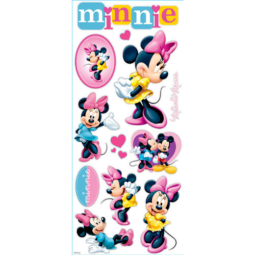 EK Success - Disney Collection - Large Classic Stickers - Minnie Mouse