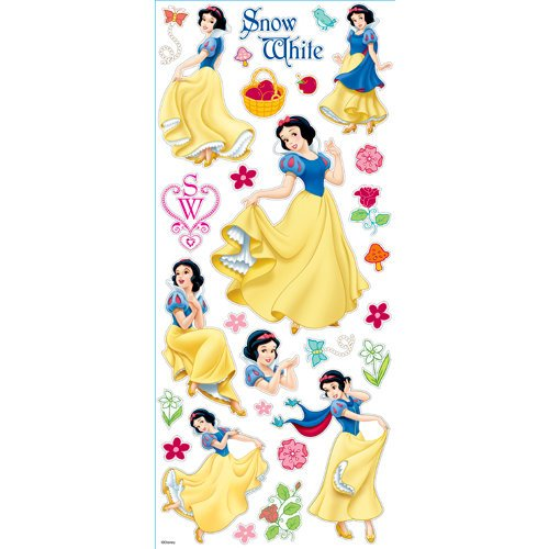EK Success - Disney Collection - Large Classic Stickers - Princess Snow White