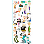 EK Success - Disney Collection - Large Classic Stickers - Phineas and Ferb