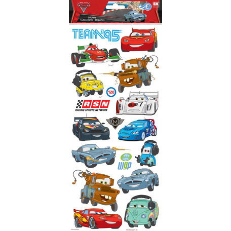 EK Success - Disney Collection - Large Classic Stickers - Cars