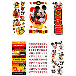 EK Success - Disney - Mickey Mouse Collection - 3 Dimensional Sticker Value Pack - Mickey