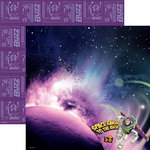 EK Success - Disney Collection - 12 x 12 Double Sided Paper with Varnish Accents - Toy Story - Buzz in Space