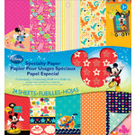 EK Success - Disney Collection - Mickey Family - 12 x 12 Specialty Paper Pad