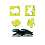 EK Success - Paper Shapers - Slim Profile - Mini Punch Set - 2 Pieces - Butterflies, CLEARANCE