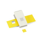 EK Success - EK Tools - Medium Punch - 3/4 Inch Scallop Square