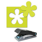 EK Success - Paper Shapers - Slim Profile - Large Punch - Retro Flower
