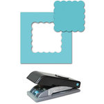 EK Success - Paper Shapers - Slim Profile - Large Punch - 1.75 Inch Scallop Square, CLEARANCE