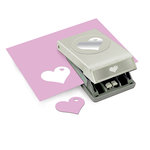 EK Success - Paper Shapers - Slim Profile - Large Punch - Heart in Heart
