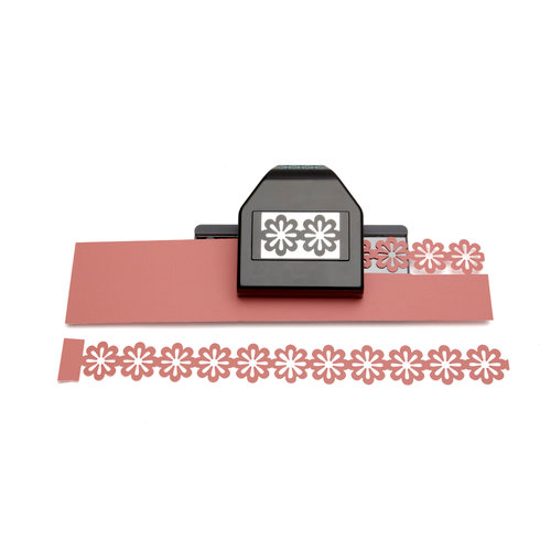 EK Success - Paper Shapers - Slim Profile - Large Edger Punch - Floral Chain