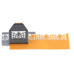 EK Success - Paper Shapers - Halloween - Slim Profile - Large Edger Punch - Spider in Web