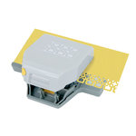 EK Success - Paper Shapers - Slim Profile - 2-in-1 Layering Edger Punch - Interlocking Squares