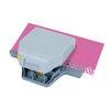 EK Success - Paper Shapers - Slim Profile - 2-in-1 Layering Edger Punch - Circles and Flowers