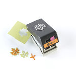 EK Success - Paper Shapers - Halloween - Slim Profile - Layering Punch - Fall Leaf