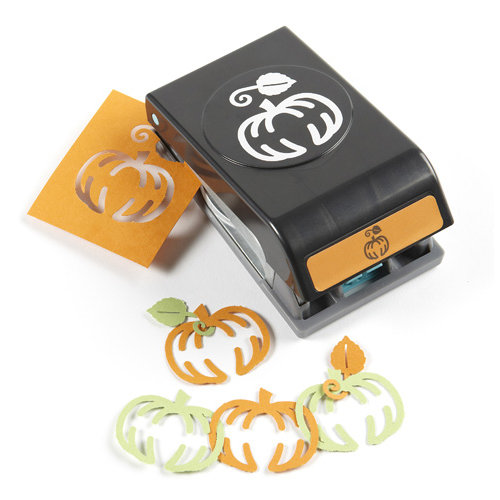 EK Success - Paper Shapers - Halloween - Slim Profile - Garland Punch - Pumpkin