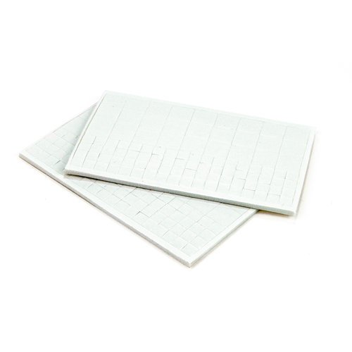 EK Success - Foam Dot Squares - White - 1/8 Inch Thick - 198 Count