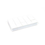 EK Success - 3D Dots - Square - White - 1/2 Inch Thick