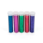EK Success - Glitter Set - Primary - 5 pack