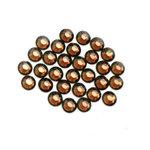 EK Success - Jolee's Jewels - Crystallized Swarovski Elements Collection - Flat Back Hotfix Jewels - 4 mm - Smoked Topaz