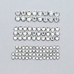 EK Success - Jolee's Jewels - Crystallized Swarovski Elements Collection - Flat Back Hotfix Jewels - Value Pack - Crystal Combo
