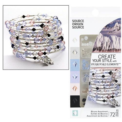 EK Success - Create Your Style - Fashion Kits Collection - Jewelry - Source Crystal Assortment