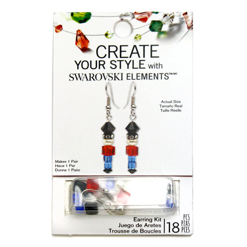 EK Success - Create Your Style - Christmas - Jewelry - Earring Kit - Toy Soldier