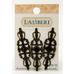 EK Success - Laliberi - Jewelry - Brass Pendants - Long Filigree Bases