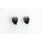 EK Success - Jolee's Jewels - Jewelry Interchangeable Ear Posts - Gothic Heart - Silver