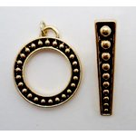 EK Success - Jolee's Jewels - Jewelry Toggle Closure - Infinity - Gold