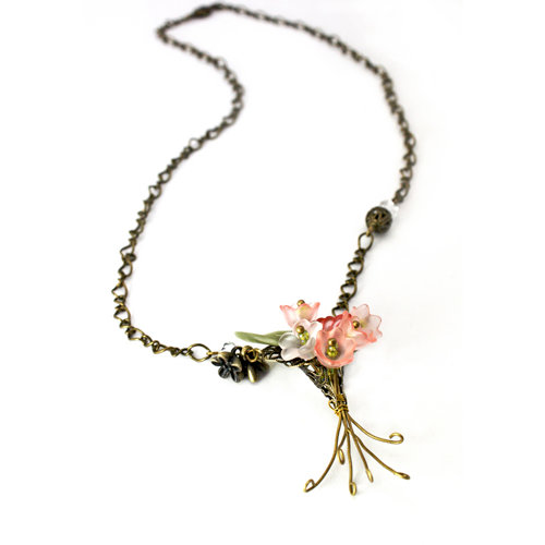 EK Success - Laliberi - Jewelry - Necklace Kit - Floral Bouquet