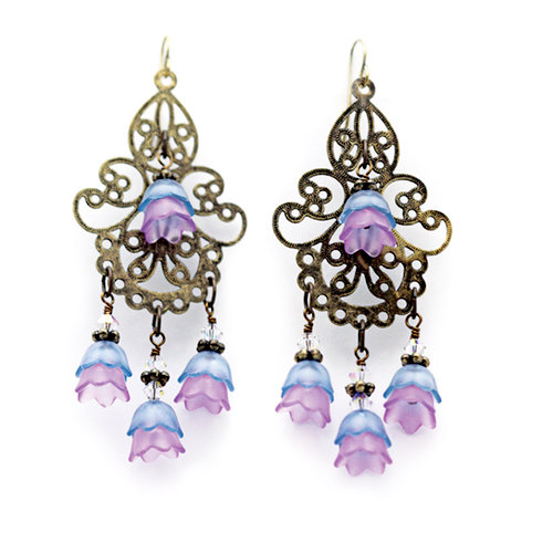 EK Success - Laliberi - Jewelry - Earring Kit - Tulip Chandelier Dangles