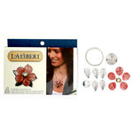 EK Success - Laliberi - Vintage Petals Collection - Jewelry Multi Kit - Sunburst - Silver