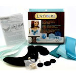 EK Success - Laliberi - Julie Comstock - Jewelry - Bib Necklace and Ring Kit - Coiled Roses - Dark