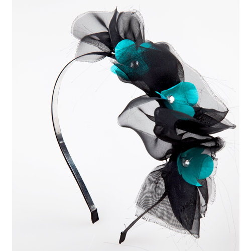 EK Success - Laliberi - Julie Comstock - Jewelry - Hair Accessory Kit - Dark Blooms