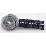 EK Success - Laliberi - Julie Comstock - Jewelry - Hair Accessory Kit - Dark Coiled Roses
