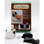 EK Success - Laliberi - Julie Comstock - Jewelry - Cuff Kit - Dark Ruffle Bow
