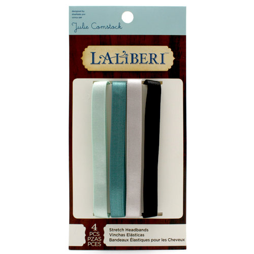EK Success - Laliberi - Julie Comstock - Jewelry - Soft Hair Bands - Dark