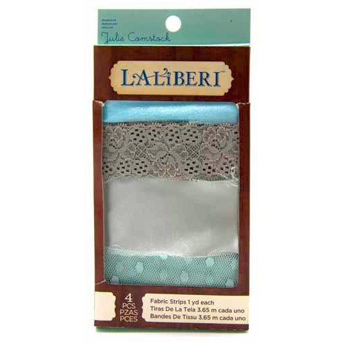 EK Success - Laliberi - Julie Comstock - Jewelry - Fabric Strips - Dark - Assortment 3
