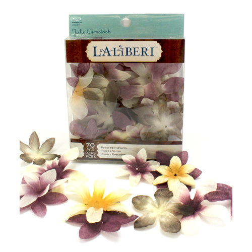 EK Success - Laliberi - Julie Comstock - Jewelry - Pressed Flowers - Pointed - Light