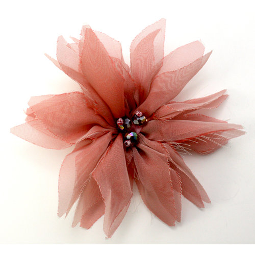 EK Success - Laliberi - Julie Comstock - Jewelry - Ready to Wear Flower - Pink Pointed